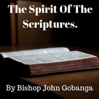 The spirit of the scriptures